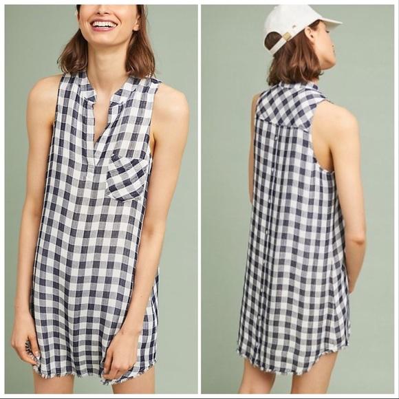 303d181ddc Anthropologie Dresses   Skirts - Anthro Cloth   Stone Maroney Sleeveless  Shirtdress